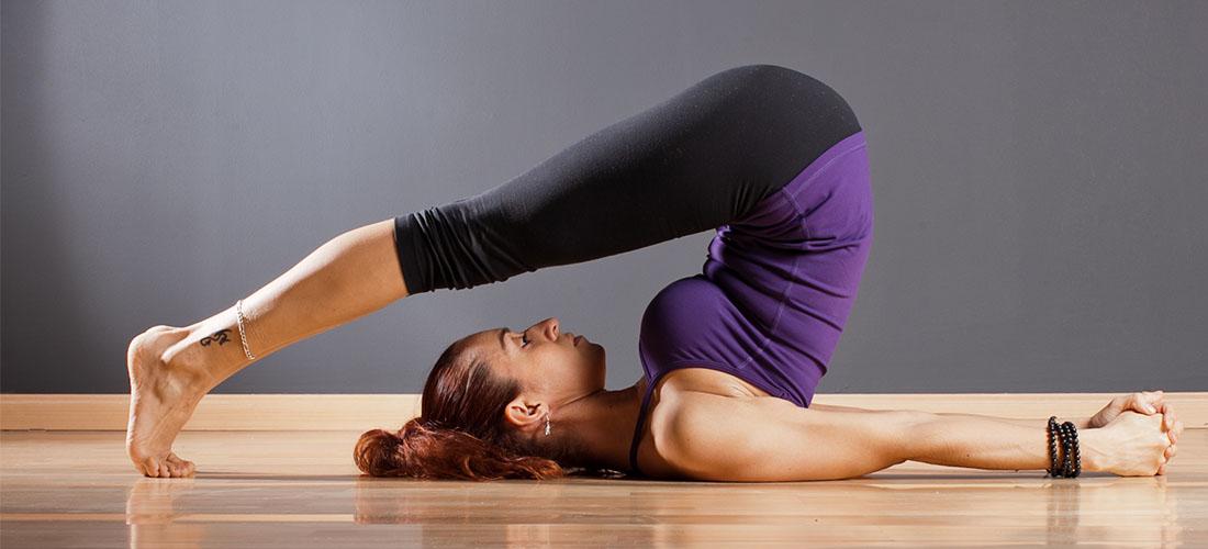 yoga halasana for hair