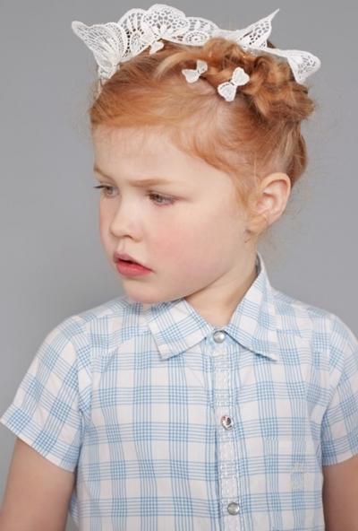 Cute Semi Formal Kid Hairdo