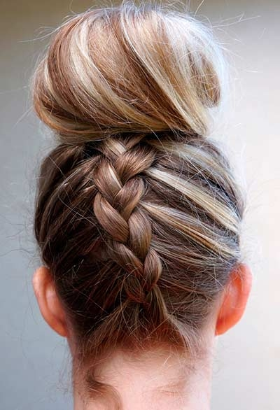 Fish Tail Bun