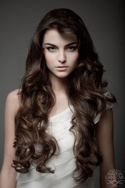 Long Casual Curls