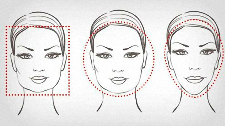 hairstyles for your face